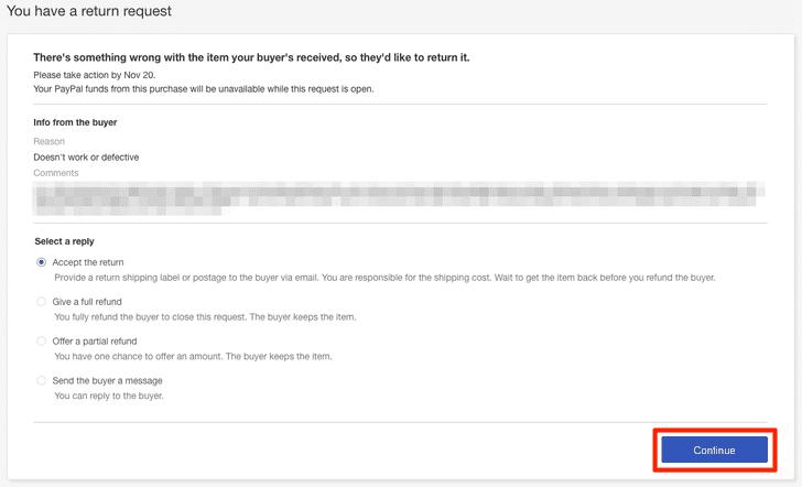 ebayのreturn request リターンリクエスト の対応方法を詳しく解説 15