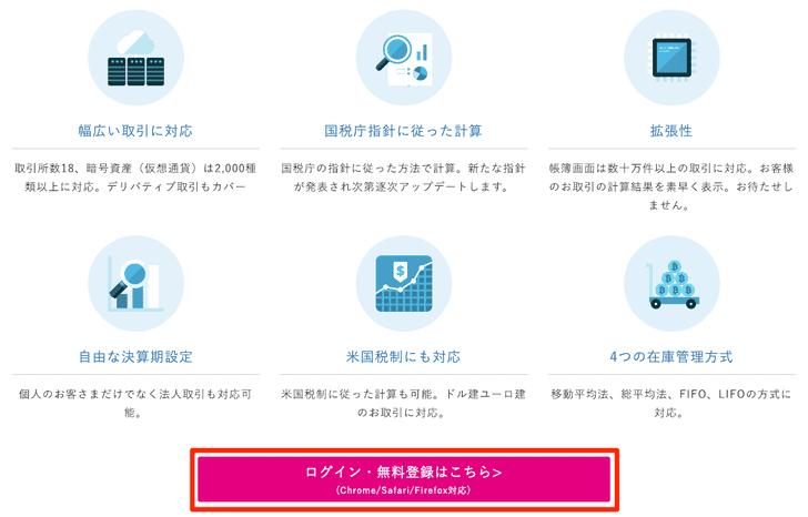 Cryptact(クリプタクト)の登録方法