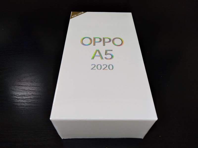 OPPO_A5_2020_開封レビュー_初期設定