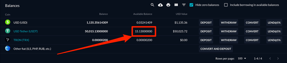FTX_—_Wallet_50000USDTを48時間レンディングした金利